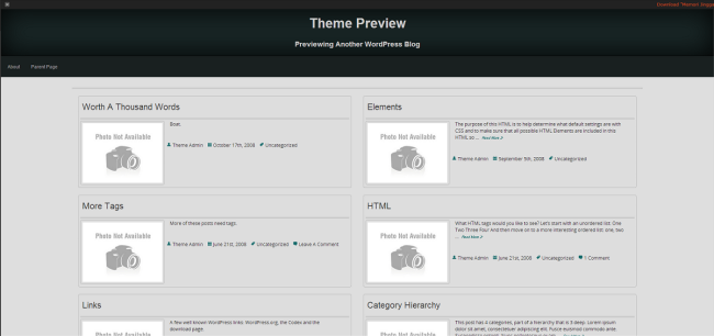 WordPress › Memori Jingga « Free WordPress Themes