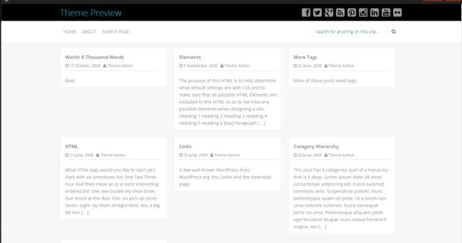 WordPress › Inkness « Free WordPress Themes