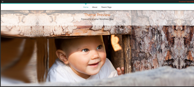 WordPress › ButterBelly « Free WordPress Themes' - wordpress_org_themes_butterbelly