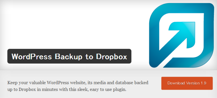 WordPress › WordPress Backup to Dropbox « WordPress Plugins (1)