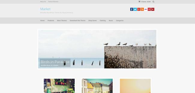 Market   Beautiful WordPress Theme for WooCommerce