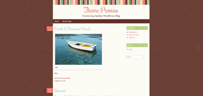 Theme Preview   Previewing Another WordPress Blog (1)