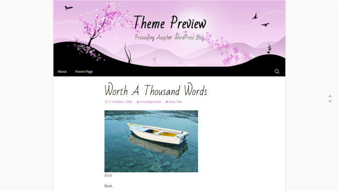 Theme Preview   Previewing Another WordPress Blog (4)