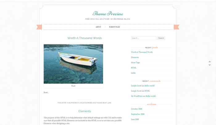 Theme Preview   Previewing Another WordPress Blog (5)