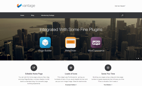 Vantage Demo - Just another SiteOrigin Demo Sites site
