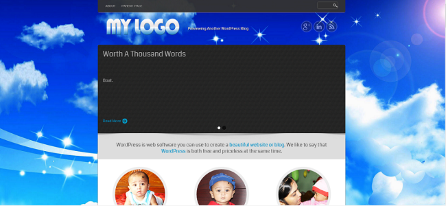 WordPress KABBO  Free WordPress Themes
