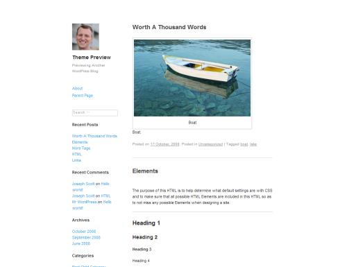 WordPress  Publish  Free WordPress Themes