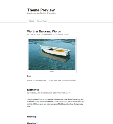 WordPress  Thematic  Free WordPress Themes