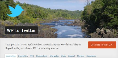 WordPress  WP to Twitter  WordPress Plugins