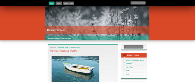 WordPress  Wallpapered  Free WordPress Themes