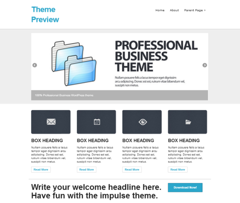 WordPress  impulse  Free WordPress Themes