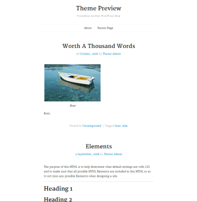 WordPress  tdSimple  Free WordPress Themes