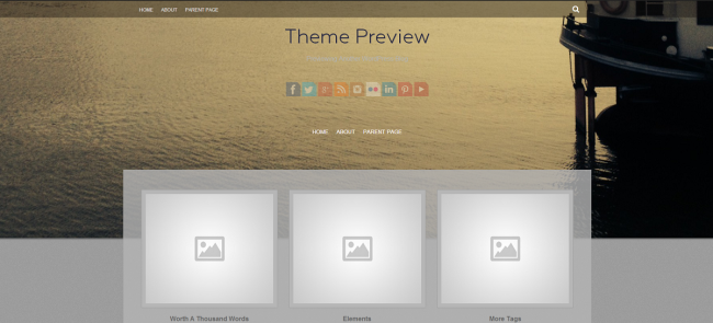 WordPress › Fifteen « Free WordPress Themes