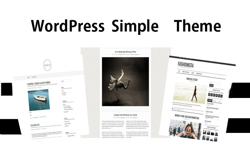 初心者にお勧めWordPress公式配布無料ブログテーマ シンプル編14選