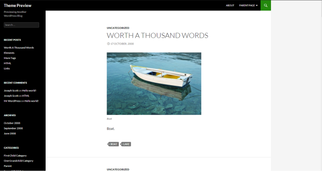 WordPress › Anjirai « Free WordPress Themes